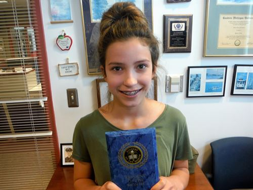 June Student of the Month - Abigail Streight